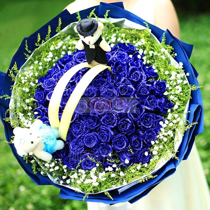 蓝色妖姬的花语是什么?送蓝色妖姬有什么寓意?