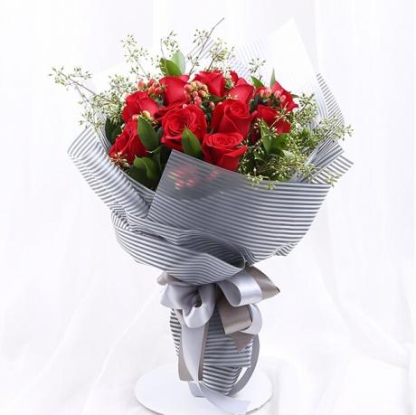 给喜欢的女同桌送什么花?