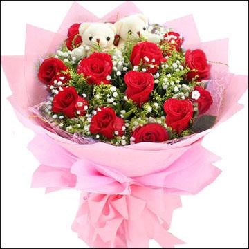 大庆肇源县世纪花园哪家花店可以送花?